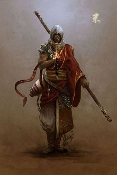 horned monk - Google Search
