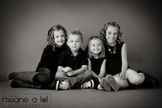 nice sibling pose - indoors or out