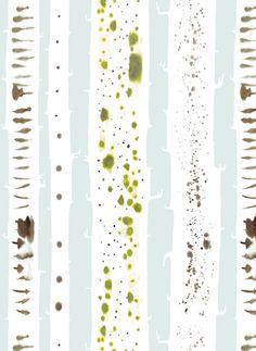into the woods wallpaper aspen design