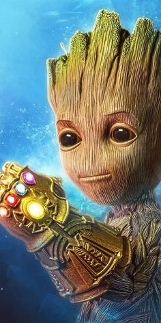 Most Cutest Baby Groot Famous And Popular New Wallpaper Collection. Groot Wallpaper From Guardian's Of Galaxy. Thanos Marvel, Marvel Avengers, Hero Marvel, Marvel Fan, Marvel Comics, Captain Marvel, Groot Avengers, Baby Groot, Films Marvel