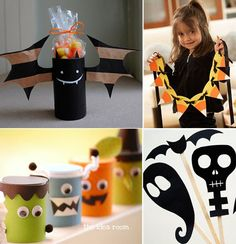 TONS of Halloween craft ideas! - via multiply delicious