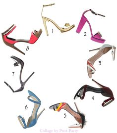 Este año, las sandalias son indudablemente las grandes estrellas. Sandalias que dejan el pie lo más provocativamente desnudo posible, ultra femenino, muy minimalista con una tira en el empeine, otra en el tobillo y nada más.