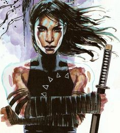 (Recommend 8th grade-Up) Echo - Comic Vine Echo is one of a very few deaf superheroes, as well as being of native American descent. She is the one-time lover of Daredevil and the first person to take the guise of Ronin. She has served as an Avenger and was a one time killer for the Kingpin.