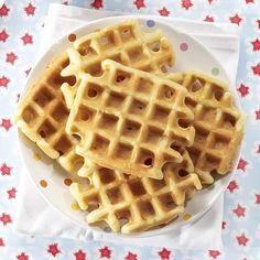 Gluten- en lactosevrije wafels