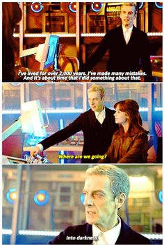 Doctor Who series 8 sneak peek via clarabosswald tumblr
