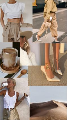 Spring Aesthetic, Classy Aesthetic, Beige Aesthetic, Aesthetic Fashion, Look Fashion, Aesthetic Clothes, Fashion Outfits, Womens Fashion, Fashion Design