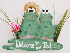 Welcome - Frog