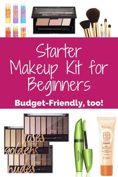 These six items make the perfect starter makeup kit for beginners or anyone looking for a simple makeup bag. Plus, all the items are budget-friendly.
