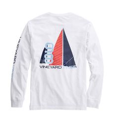 Long-Sleeve Sails Away T-Shirt