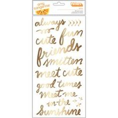 AMY TAN RISE & SHINE THICKERS STICKERS  | American Crafts