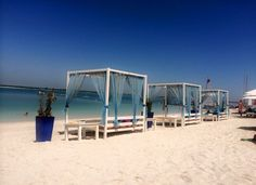Yas Beach, Abu Dhabi. I would 1000% recommend this place to anyone, absolutely fell in love with it, was in paradise