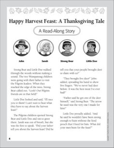 Happy Harvest Feast: A Thanksgiving Tale
