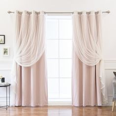 Brockham Solid Blackout Thermal Grommet Curtain Panels
