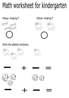 Math worksheets for kindergarten free are good way to teach your child. Here you are worksheet for kids to teach your child math. Kindergarten Coloring Pages, Kindergarten Math Worksheets, Preschool Kindergarten, Worksheets For Kids, Printable Worksheets, Free Printable, Math For Kids, Activities For Kids, Printable Valentine