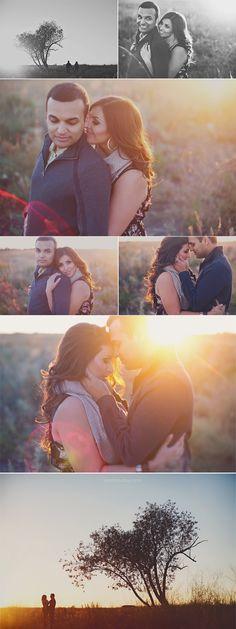 Sehr schönes Outdoor-Fotoshooting Couples