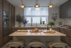 A minimalist kitchen...
