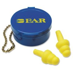 3M Ultrafit Earplugs w/ Case - 50/BX