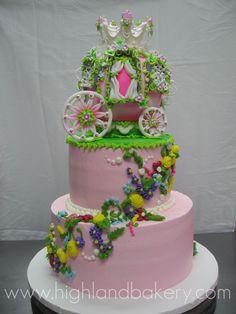 https://flic.kr/p/64W5gi | Princess Carriage Cake
