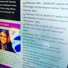 Get ready for he Austrian final on 12/2 at 20:25 CET - live stream link on the main #oikotimes page and  poll available here http://oikotimes.com/2016/02/09/austria-2016-conchita-wurst-madita-and-julie-frost-the-jury/ #eurovisiongr #cometogether #escpress #Eurovision @orf