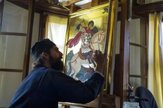 The worship of icons Orthodox Christianity, Roman Art, Orthodox Icons, Saint George, Archetypes, Byzantine, Christian Faith, Worship, Statue