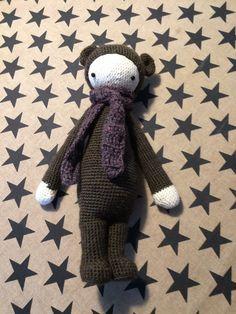 BINA the bear made by Heidi M. / crochet pattern by lalylala