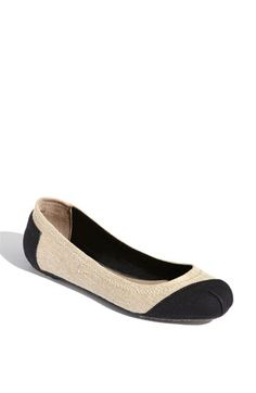 TOMS has ballet flats - love these!