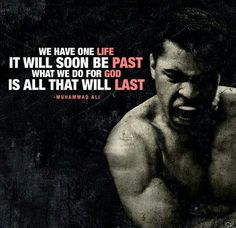 Quotes by Muhammad Ali. Muhammad Ali, a great boxer, an aspirational activist and an aspiring philanthropist, has motivated the people with his sayings and quotes for quite a long time. Mohamed Ali, Best Motivational Quotes, Positive Quotes, Inspirational Quotes, Positive Thoughts, Words Quotes, Me Quotes, Sayings, Short Quotes