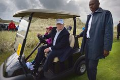 23rd golf course visit in the 19 weeks Trump has been in office.He  said he'd be too busy for golf, and complained via Twitter (26 times) about  Obama golfing.