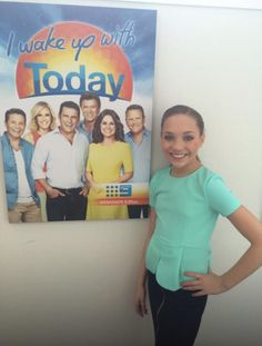 """Maddie interview in Australia! I posted the video on my boards """"Maddie Ziegler!"""" and """"ALDC Australia Tour! {2015}!"""