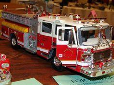 model kit fire trucks: