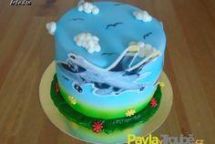 Dětský dort letadla Planes