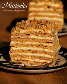 Nastoletnie Wypiekanie: Ciasto Marlenka Tiramisu, Banana Bread, Pie, Baking, Ethnic Recipes, Desserts, Food, Pastel, Torte
