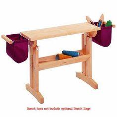 Schacht Floor Loom Bench Bag