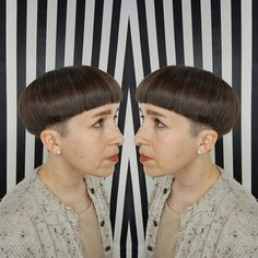When you get that perfect #bowlcut on lockdown . ... - go shorter