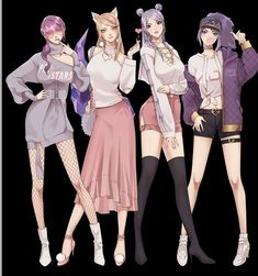 Design from Durian Society Do you like this costumes? Are you willing to cos them? League Of Legends Memes, Evelynn League Of Legends, Akali League Of Legends, Fan Art, Mobile Legends, Manga Games, Anime Style, Female Characters, Costume Design