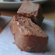 Chocolate Peanut Butter Freezer Fudge Recipe photo