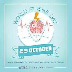 Let S All Stand Against Stroke There Is Life After Stroke Time To Start Caring For Stroke Survivors Worldstrokeday Iwillag World Stroke Day Heart Disease Social Events