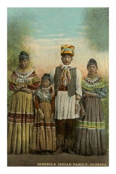 Yat'siminoli (Seminole) Nation Family