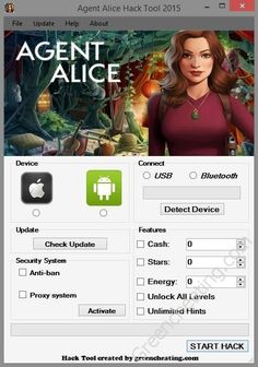 Agent Alice Hack Tool