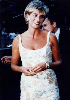 Princess Diana at Christie's, NY.