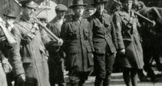 Countess Markievicz and Michael Mallin captured after the Easter Rising. Photograph: courtesy of National Museum of Ireland Local History, Women In History, Ireland 1916, Irish Republican Army, Easter Rising, Images Of Ireland, Irish Times, Michael Collins, National Museum