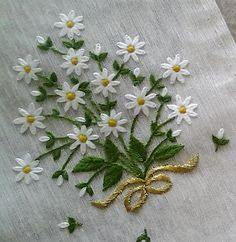 Marvelous Crewel Embroidery Long Short Soft Shading In Colors Ideas. Enchanting Crewel Embroidery Long Short Soft Shading In Colors Ideas. Crewel Embroidery Kits, Hand Embroidery Videos, Hand Embroidery Tutorial, Embroidery Flowers Pattern, Simple Embroidery, Silk Ribbon Embroidery, Hand Embroidery Designs, Machine Embroidery, Embroidery Thread