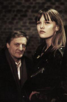 Vanessa Paradis et Bruno Cremer (Noce blanche) photo Pierre Terrasson