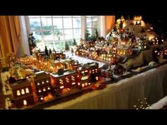 Want to build a Christmas Village like this? Visit http://thechristmasvillageshop.com/ and we'll help you get started!