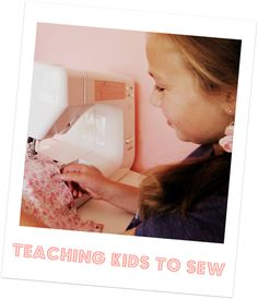 Simple tips & tricks! - you know, for that sewing machine we got over a year ago and have yet to open....