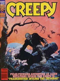 Cover for Creepy (Warren, 1964 series) #128  June 1981