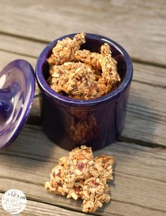 Strawberry Chia Granola Clusters - Healthy Chia Seed Recipes
