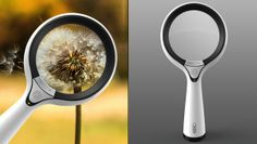 """Camera-magnifying glass, via Thomas Frey, who says: """"Really surprised no one thought of this before."""""""