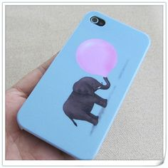 iPhone 5 case, iphone 4 cases covers, iphone 4s cute elephant iphone cases. $8.50, via Etsy.