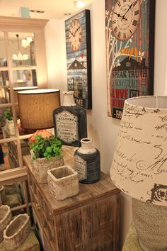 Natural mood #loft style by inart www.inart.com
